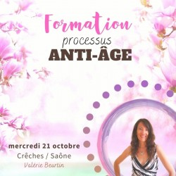 Formation processus anti-âge